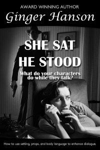 she sat he stood
