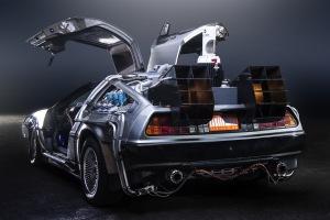 Paul Nigh's 'TeamTimeCar.com' Back to the Future DeLorean Time Machine