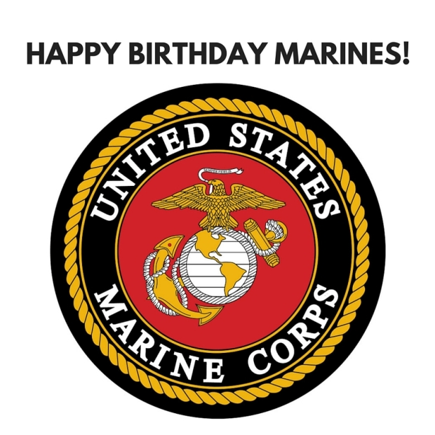 HAPPY BIRTHDAY MARINES!