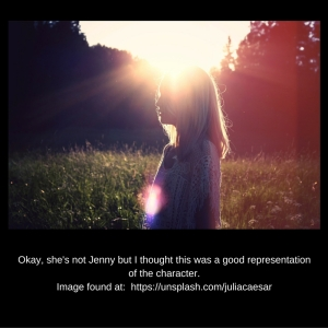 Okay, she's not Jenny buthttps---unsplash.com-juliacaesar I thought the pic is a good representation of the character.